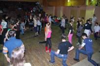 Мастер-класс по акробатике в парных танцах