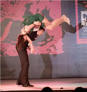 веста обучение танцам