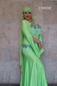 Долгих Анна Египетский фольклор Школа танцев Vesta