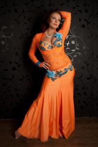 Долгих Анна Арабский танец Школа танцев Vesta